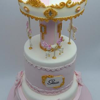 Carousel cake - Cake by Olana Mary