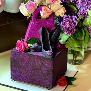 "Birthday Cake ""Oh, Baby"", chocolate decor - Cake by Viktory"