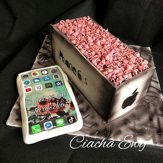 Cake IPhone  - Cake by Ewa
