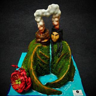 I Lava you cake