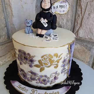 Grandma bday cake