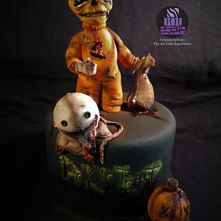 Sam- Creepy World - Cake Art Collaboration