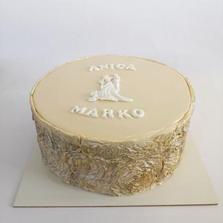 Wedding relief cake - Cake by Tortebymirjana