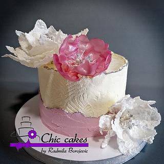 Gently birthday cake