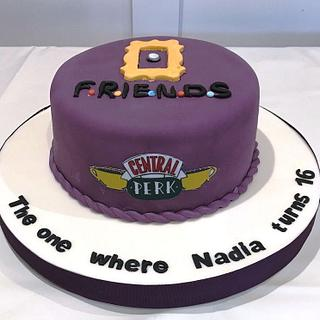 """Friends""  - Cake by Margaret Lloyd"