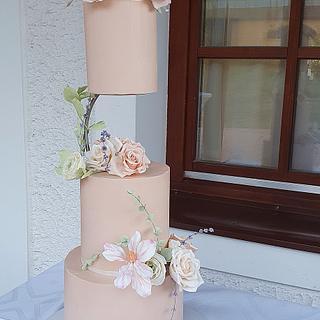 Wedding cake - Cake by Judit