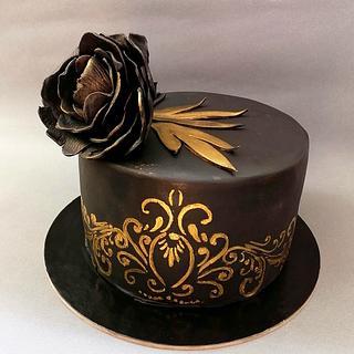 Dark cake  - Cake by Ralitza Hristova