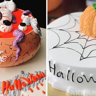 Amazing Halloween Cake Decorating Ideas - Cake by CakeArtVN
