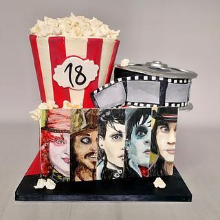 Johnny Depp - Cake by MOLI Cakes