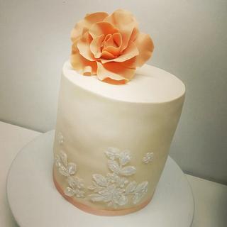Cumple 15 años  - Cake by Con Mucho Arte