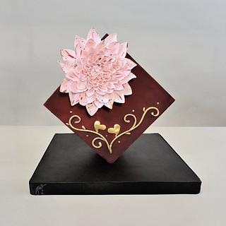 Velvet Valentine - Cake by Jeanne Winslow