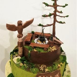 Tramping cake