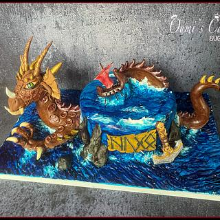Vikings Cake  - Cake by Cécile Fahs