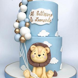 Lioncake - Cake by Mariana Frascella