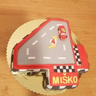 McQueen cake - Cake by Vebi cakes