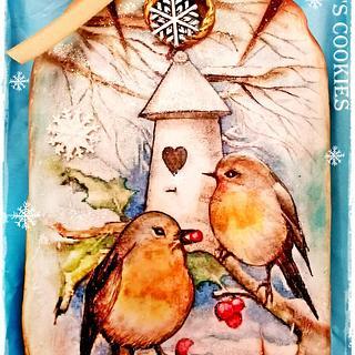Christmas Cookies/BIRDS
