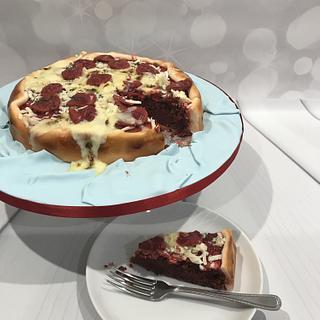 Red velvet pizza!