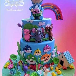 Cocomelon and JJ cake - Cake by Bonnie Bakes UAE