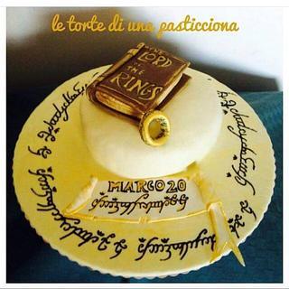 Il signore degli anelli - Cake by pasticciona