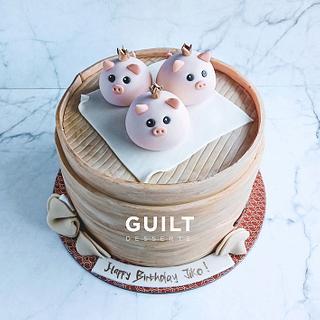 Pork Dimsum Cake