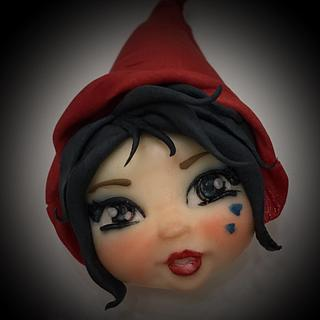 Little red riding hood!
