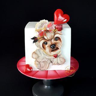 Love - Cake by Mariya's Cakes & Art