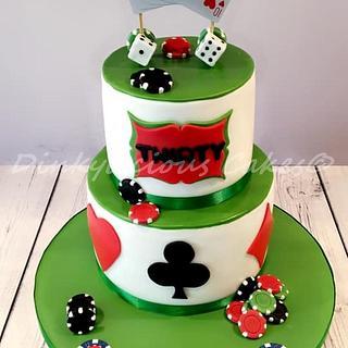 Casino Cake - Cake by Dinkylicious Cakes