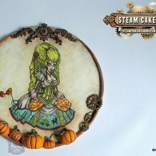 Steam Cakes Steampunk collab - Steampunk Cinderella! - Cake by Sweet Dreams by Heba