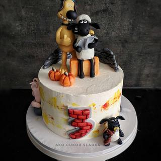 Shaun the sheep - Cake by Ako cukor sladká