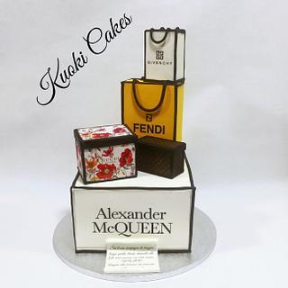 Shopper cake