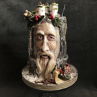 Let it snow :)  - Cake by Zuzana Kmecova