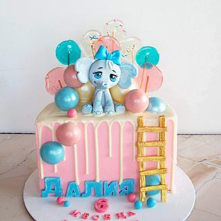 Half birthday cake - Cake by TortIva