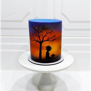 Sunset - Cake by Piu Dolce de Antonela Russo