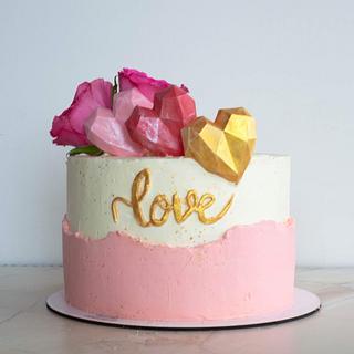 St. Valentine's cake - Cake by TortIva