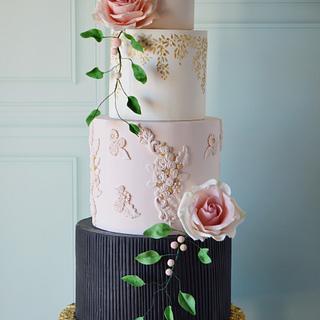 Wedding cake  - Cake by Paula Rebelo