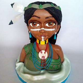 Bust cake