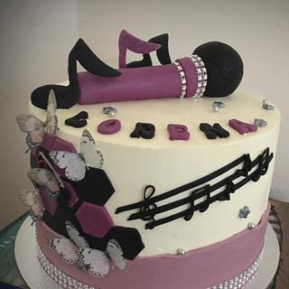 Music cake  - Cake by Mrs.magic_Emina
