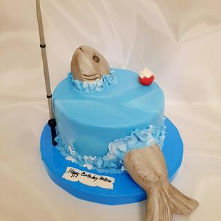 """""""Fishing Adventure Cake"""""""