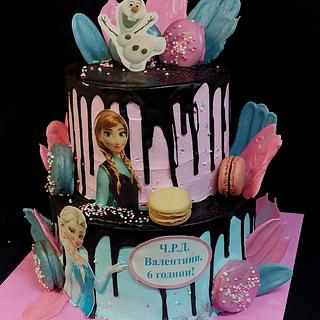 Cake frozen  - Cake by Sunny Dream