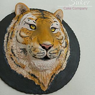 Tiger cake - Cake by MunaSuker