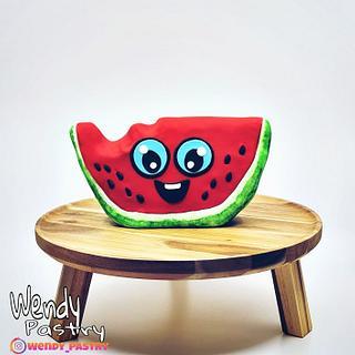 watermelon cake - Cake by Wendy