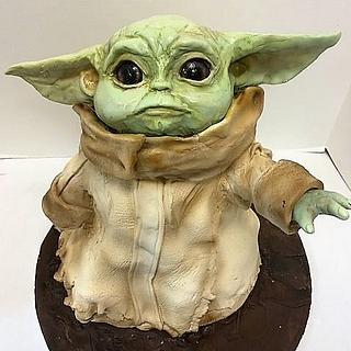 The Child Cake from The Mandalorian