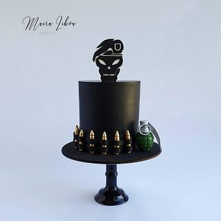 Call of duty - Cake by Maira Liboa