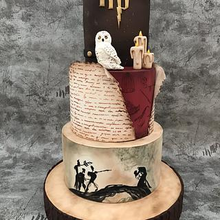 Harry potter cake - Cake by Alinda Cake