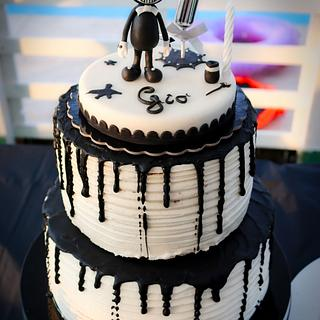 bendy and the ink machine - Cake by Art_Cake_Design