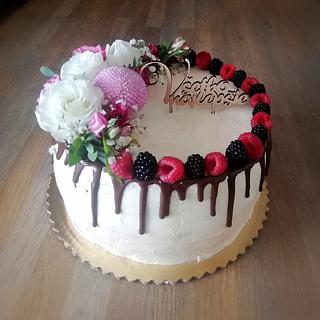 Narodeninová  - Cake by ANDREA