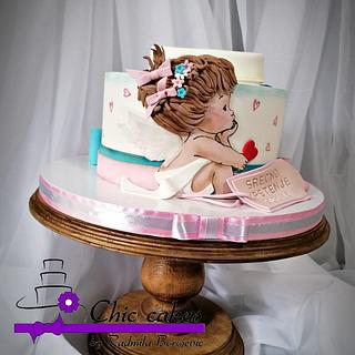 Cake with two faces .....