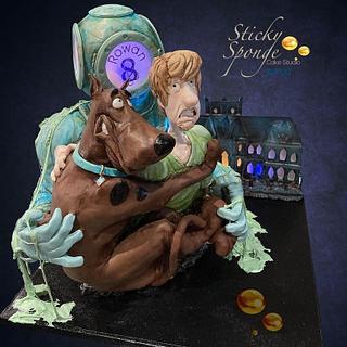 Scooby Doo birthday cake - Cake by Sticky Sponge Cake Studio