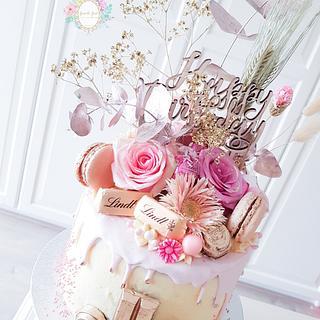 Drip cake fancy