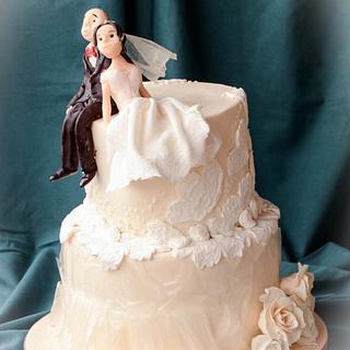 Little wedding cake...pandemy style
